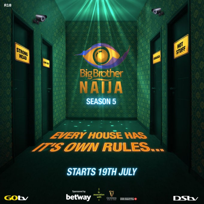 Breaking News: BBNaija Season 5 To Start July 19th