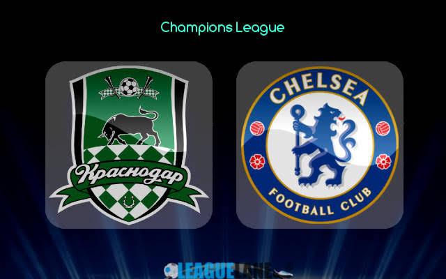 STREAM LIVE: Krasnodar Vs Chelsea [STREAM UEFA CHAMPIONS LEAGUE]