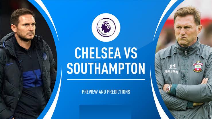 STREAM LIVE: Chelsea Vs Southampton [Watch Now] Premier League 2020/2021