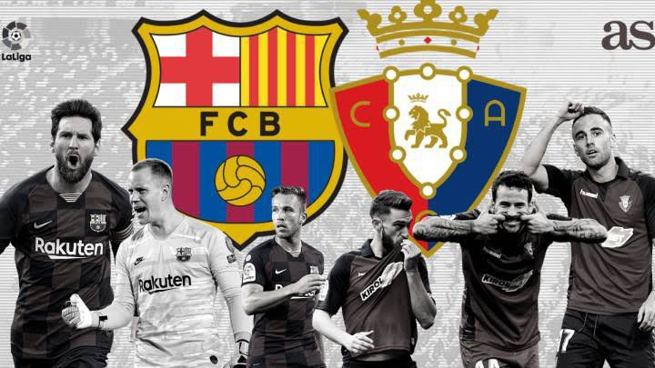 STREAM LIVE: Barcelona Vs Osasuna [Watch Now] LA LIGA 2020/2021