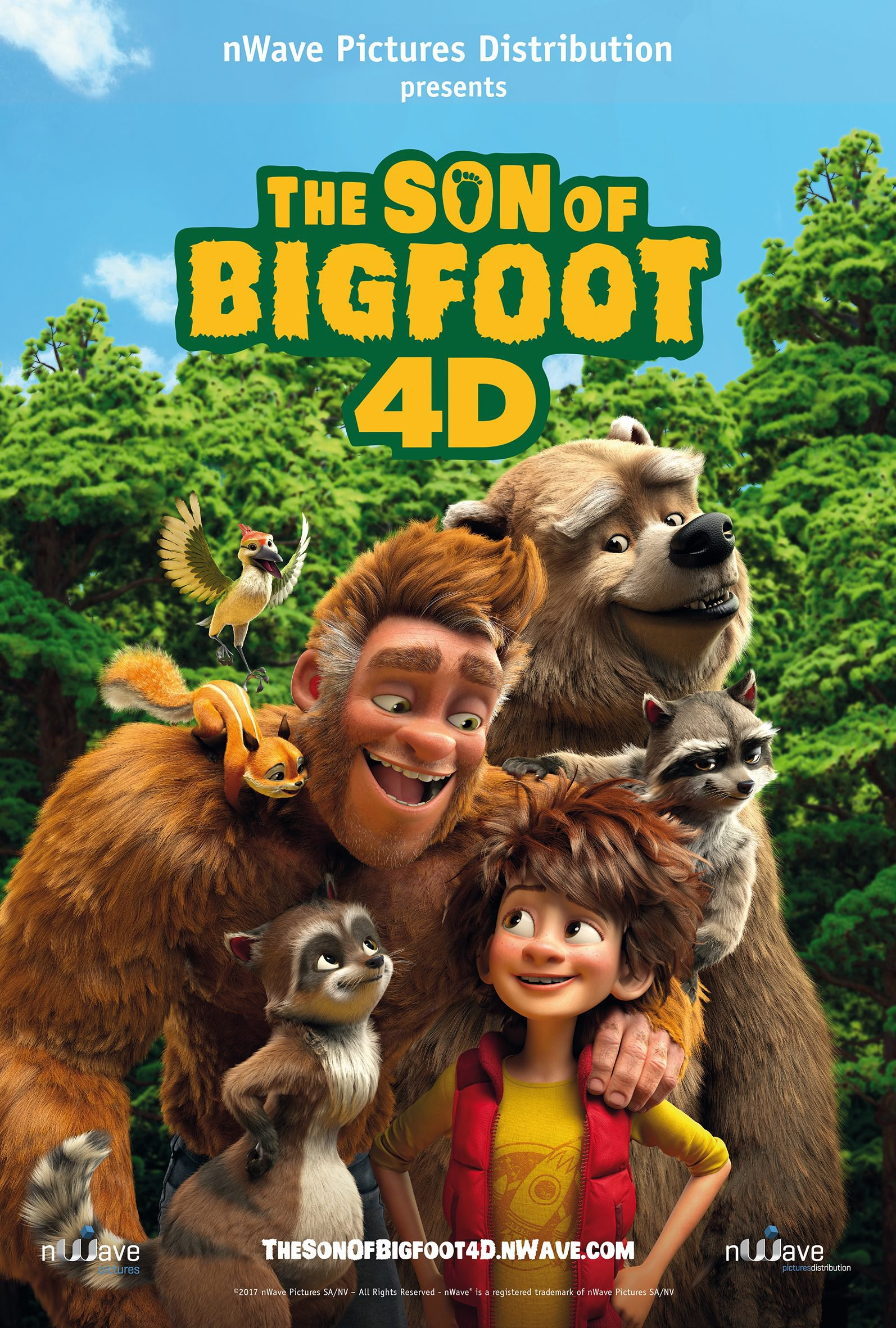 Movie: The Son of Bigfoot (2017)